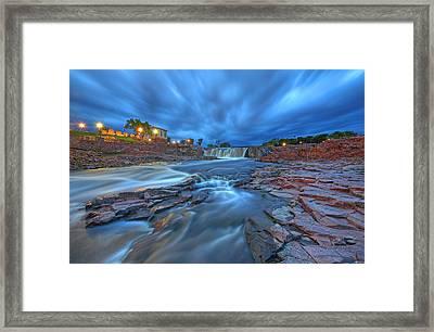 Sioux Falls South Dakota Framed Print by Chris Allington