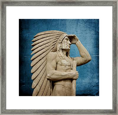 Sioux Lookout Framed Print by Sylvia Thornton