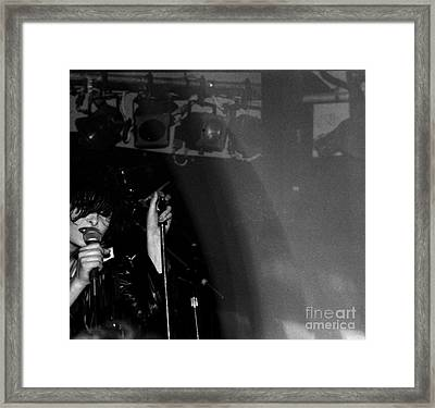 Framed Print featuring the photograph Siouxsie by Steven Macanka