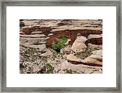 Sipapu Bridge - Natural Bridges Framed Print