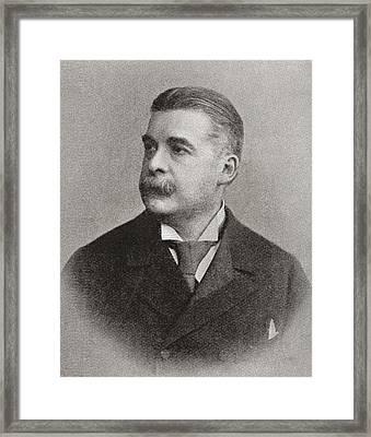 Sir Arthur Seymour Sullivan Framed Print by Bridgeman Images