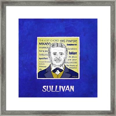 Sir Arthur Sullivan Framed Print by Paul Helm