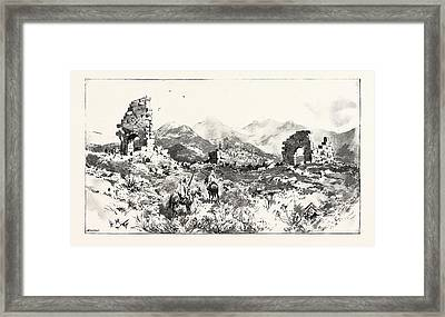 Sir Charles Euan-smiths Mission To The Court Of Morocco Framed Print