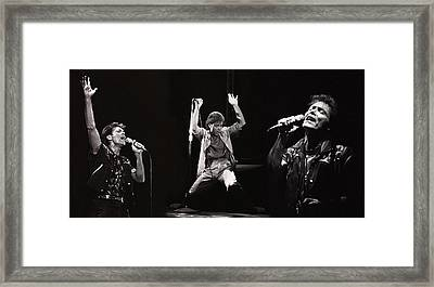 Sir. Cliff Richard Framed Print