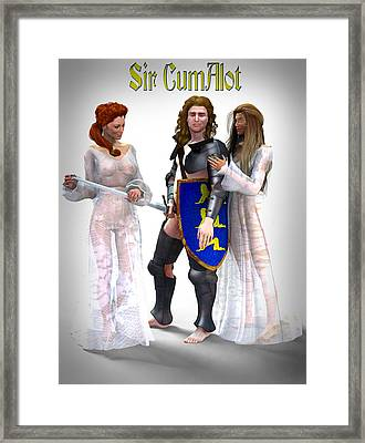 Sir Cumalot Framed Print by Frederico Borges