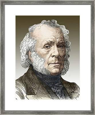 Sir David Brewster Framed Print
