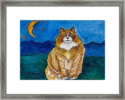 Sir Drake A Lotta Cat IIi Framed Print