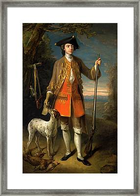 Sir Edward Hales, Baronet, Of Hales Place Framed Print by Litz Collection