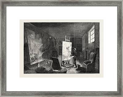 Sir Edwin Landseers Studio Framed Print