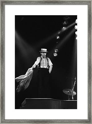 Sir Elton John Framed Print by Dragan Kudjerski
