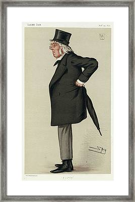 Sir Francis Hastings  Charles Doyle Framed Print by Mary Evans Picture Library