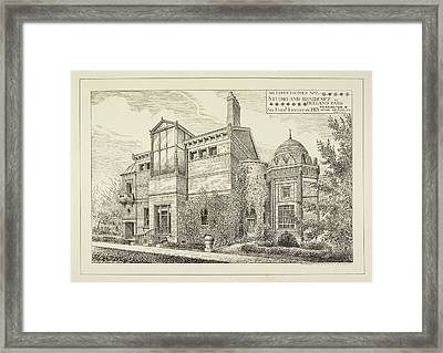 Sir Frederick Leighton's Home In London Framed Print