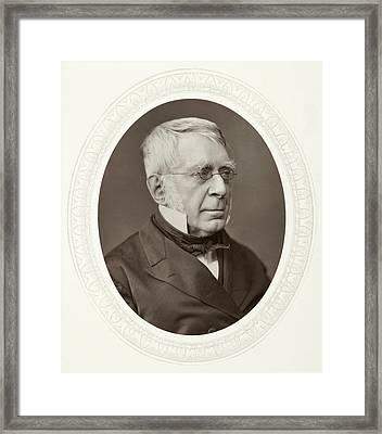 Sir George Biddell Airy (1801-1892) Framed Print