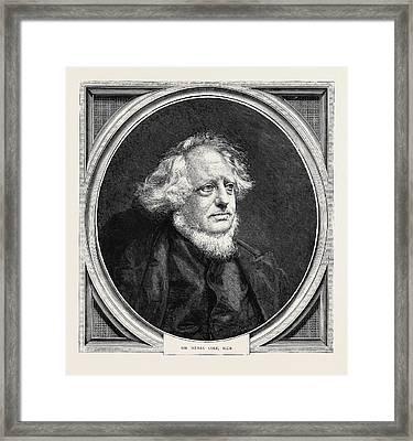 Sir Henry Cole, K.c.b Framed Print