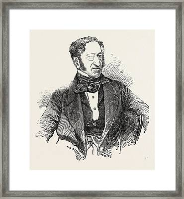 Sir Henry R. Bishop Framed Print