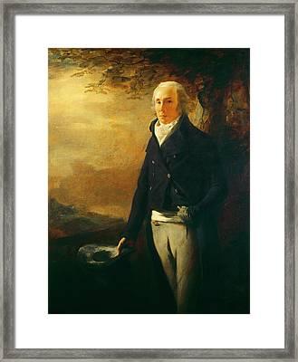 Sir Henry Raeburn Scottish, 1756 - 1823 Framed Print by Quint Lox