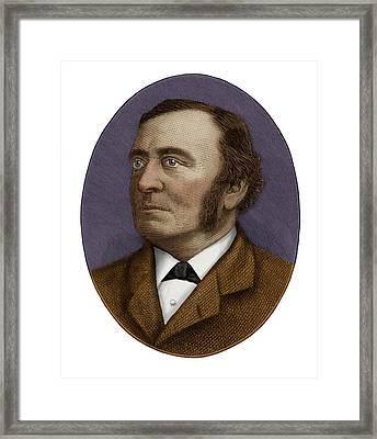 Sir Henry Roscoe Framed Print