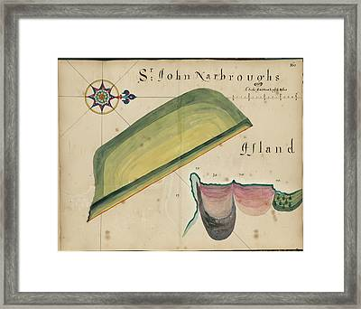 Sir John Narbrough's Island Framed Print by British Library