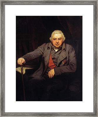 Sir Joseph Banks (1743-1820) Framed Print by Granger