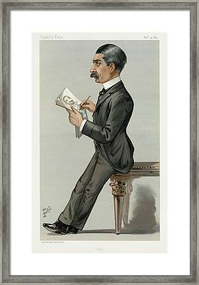 Sir Leslie Ward (1851-1922) Framed Print