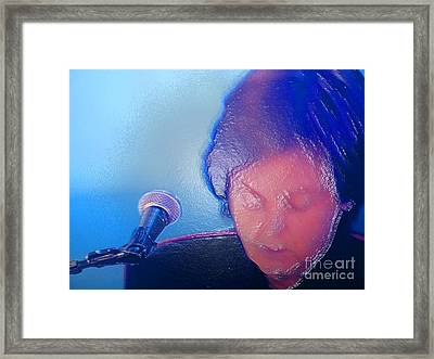Sir Paul W Rapped Framed Print by Tina M Wenger