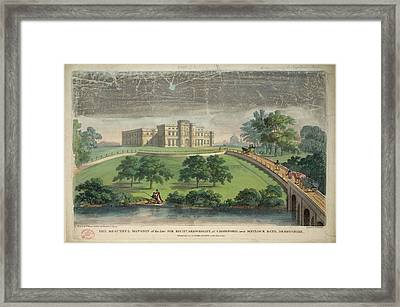 Sir Richard Arkwright's Mansion Framed Print by British Library