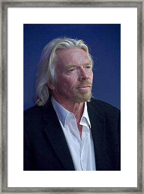 Sir Richard Branson Framed Print