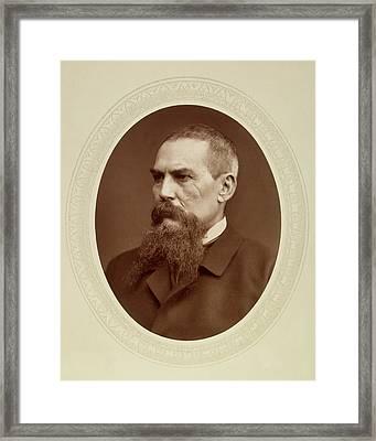 Sir Richard Francis Burton (1821-1890) Framed Print