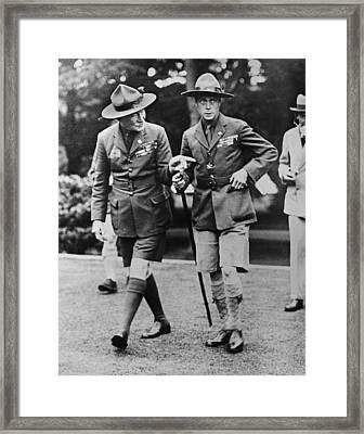 Sir Robert Baden-powell Framed Print