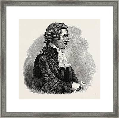 Sir Samuel Romilly Framed Print