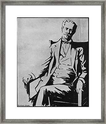 Sir Thomas Lipton (1850-1931) Framed Print by Granger