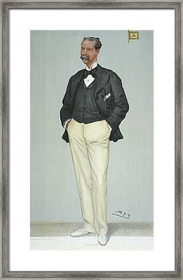 Sir Thomas Lipton, 1901 Framed Print by Granger