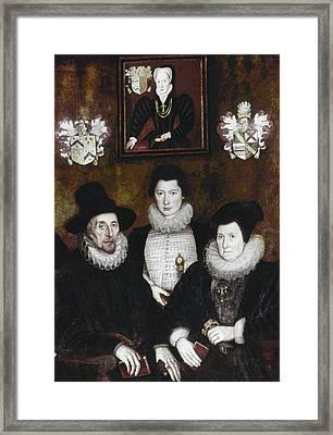 Sir Thomas More Family Framed Print by Granger