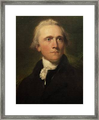 Sir William Grant Framed Print by Thomas Lawrence
