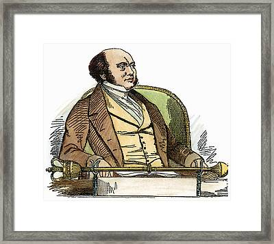 Sir William Rowan Hamilton (1805-1865) Framed Print by Granger