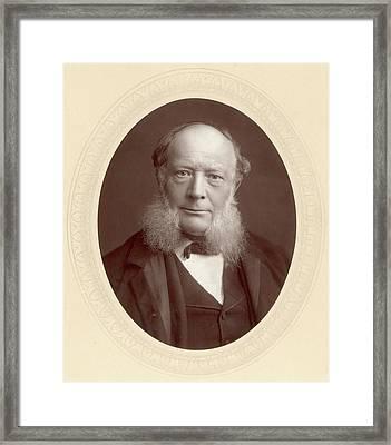 Sir William Siemens (1823-1883) Framed Print