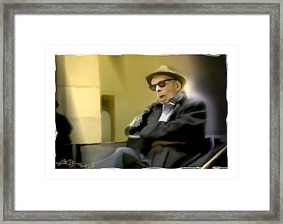 Sir You Missed Your Train Framed Print by Bob Salo