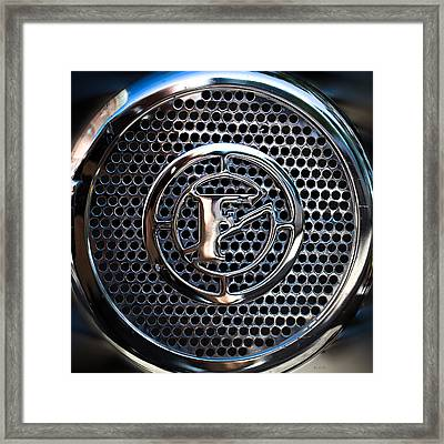 Siren Fire Engine Number Three Framed Print by Bob Orsillo