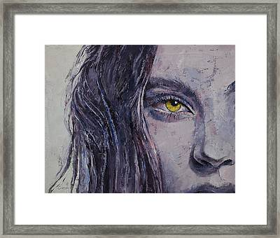 Siren Framed Print by Michael Creese