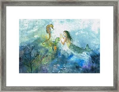 Siren Of The Sea Framed Print