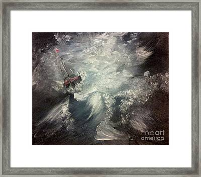 Sirens Call Framed Print by Isabella F Abbie Shores FRSA