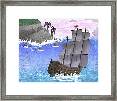 Sirens Framed Print by Steve Dininno