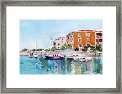 Sirmione Waterfront Framed Print by Susie Jernigan