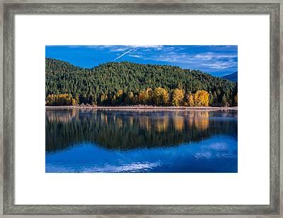 Siskiyou Lake Shoreline Framed Print