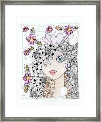 Sissy Framed Print