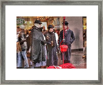 Sisterhood Of The Kettle Framed Print by David Bearden