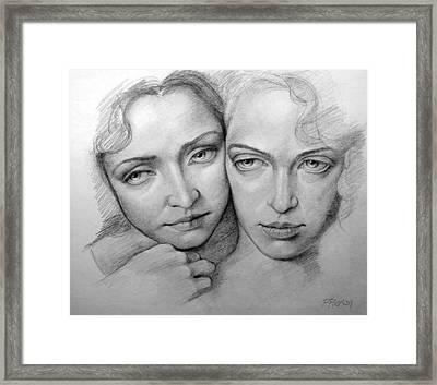 Sisterhood Framed Print by Patrick Anthony Pierson