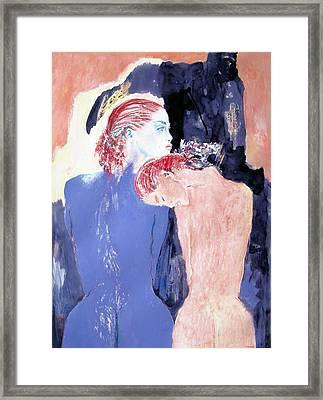 Sisters Framed Print by B J Stehlin