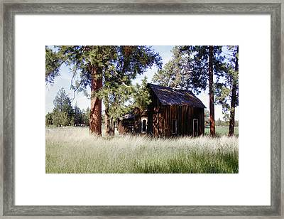 Sisters Homestead Framed Print by Ray Finch