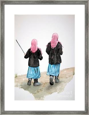 Sisters Framed Print